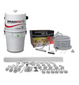 Central Vacuuming system kit